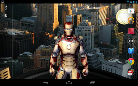 Iron Man 3 Live Wallpaper v1.0 [.apk][Android]