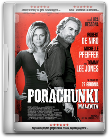 Porachunki / The Family (2013) 720p.BluRay.x264-SPARKS / Napisy PL