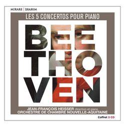 Jean-Francois Heisser - Beethoven: Les 5 Concertos Pour Piano (2017) [FLAC]