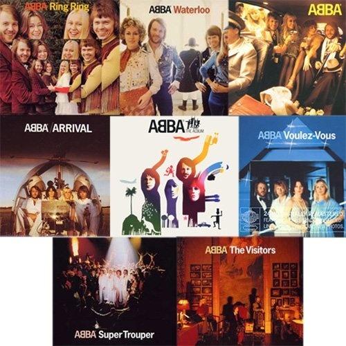 ABBA - Digipak Remasters 2001 (1973-1981) [FLAC]
