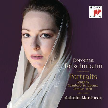 Dorothea Roschmann - Portraits: Songs by Schubert, Schumann, Strauss, Wolf (2014) [FLAC]