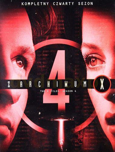 Z Archiwum X / The X Files (1996) [Sezon 4] PL.WEBRip.480p.XviD.AC3.LTN / Lektor PL
