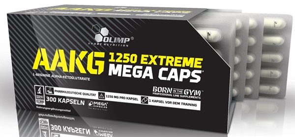 e09b4b1bf65 OLIMP AAKG 1250MG EXTREME 120 MEGA CAPS. L- Arginine Nitric Oxide ...