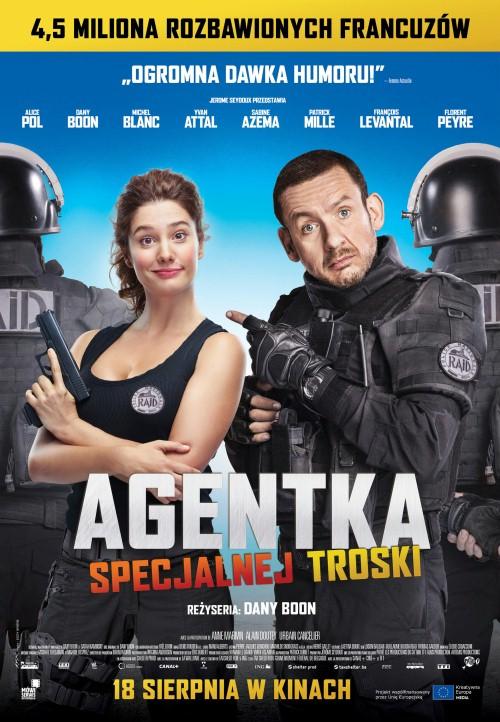 Agentka specjalnej troski / Raid dingue (2016)  PL. 720p.BRRip.XViD.AC3-MORS / Lektor PL