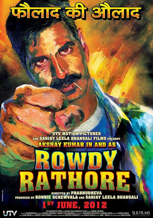 Łobuz Rathore / Rowdy Rathore (2012) PL.1080p.BRRip.x264-J / Lektor PL