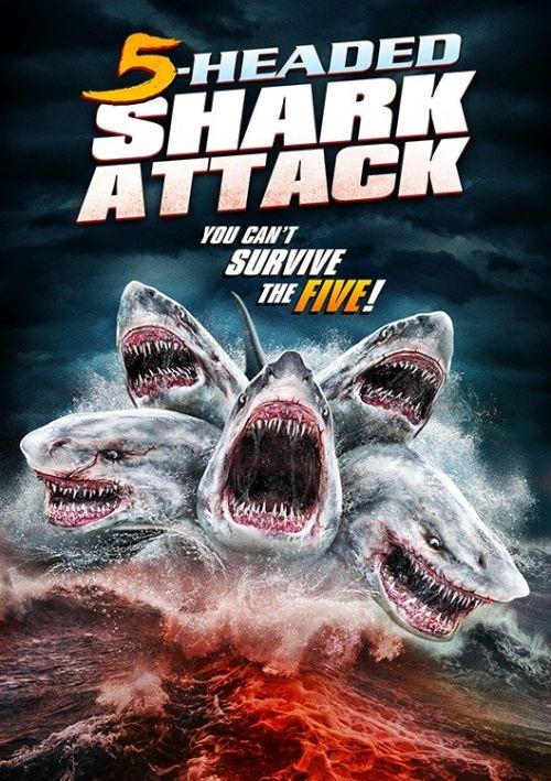 Pięciogłowy rekin atakuje / 5 Headed Shark Attack (2017) PL.480p.BRRip.Xvid-J / Lektor PL