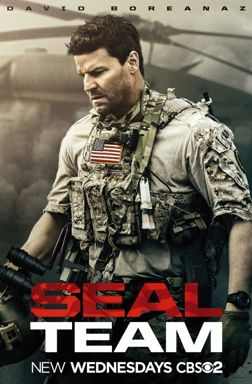 Seal Team (2017) {Sezon 1} PL.480p.AMZN.WEBRip.XviD-J / Lektor PL