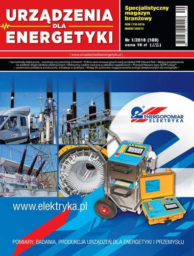 Urządzenia dla energetyki - 1 / 2018