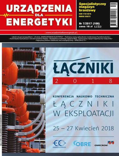 Urządzenia dla energetyki - 7 / 2017