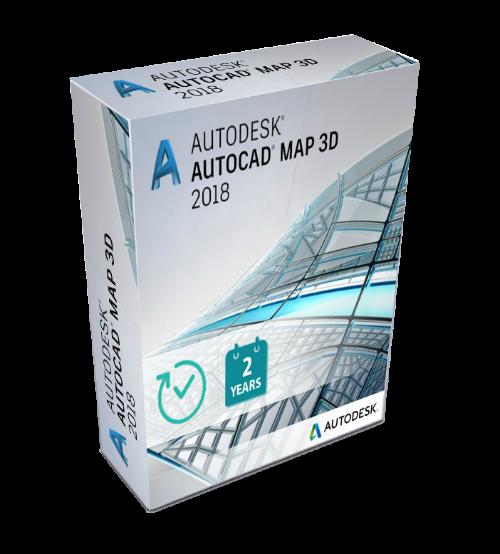 Autodesk AutoCAD MAP 3D 2019.0.1 with Offline Help
