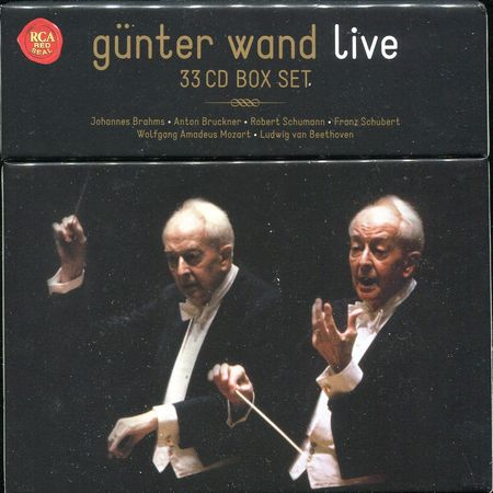 Gunter Wand - Live Recordings (33 CD Box Set) (2017) [FLAC]