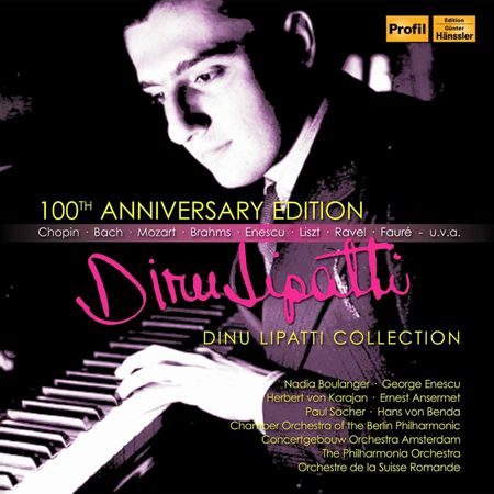 Dinu Lipatti - Collection: 100th Anniversary Edition (2017) [FLAC]