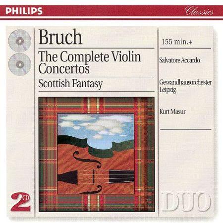 Salvatore Accardo - Bruch: The Complete Violin Concertos (1998) [FLAC]