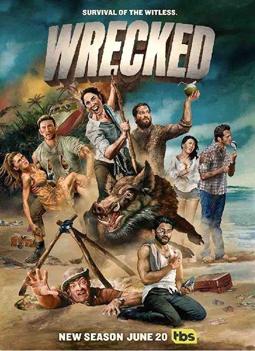 Rozbici / Wrecked (2017) {Sezon 2} PL.1080p.AMZN.WEB-DL.H.264-J / Lektor PL