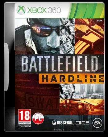Battlefield Hardline (2015) XBOX360-PROTOCOL / Polska Wersja Językowa