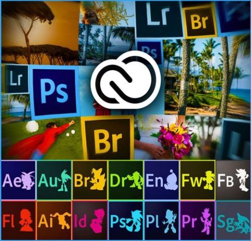 Adobe Creative Cloud 2018 Collection 19.04.2018 (x64)