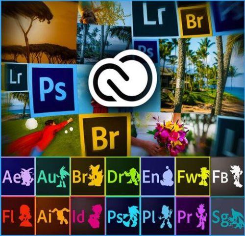Adobe Creative Cloud 2018 Collection 19.04.2018 (x64)