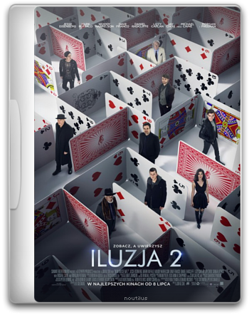 Iluzja 2 / Now You See Me 2 (2016) PL.720p.BDRip.x264.AC3-MiNS / Lektor PL