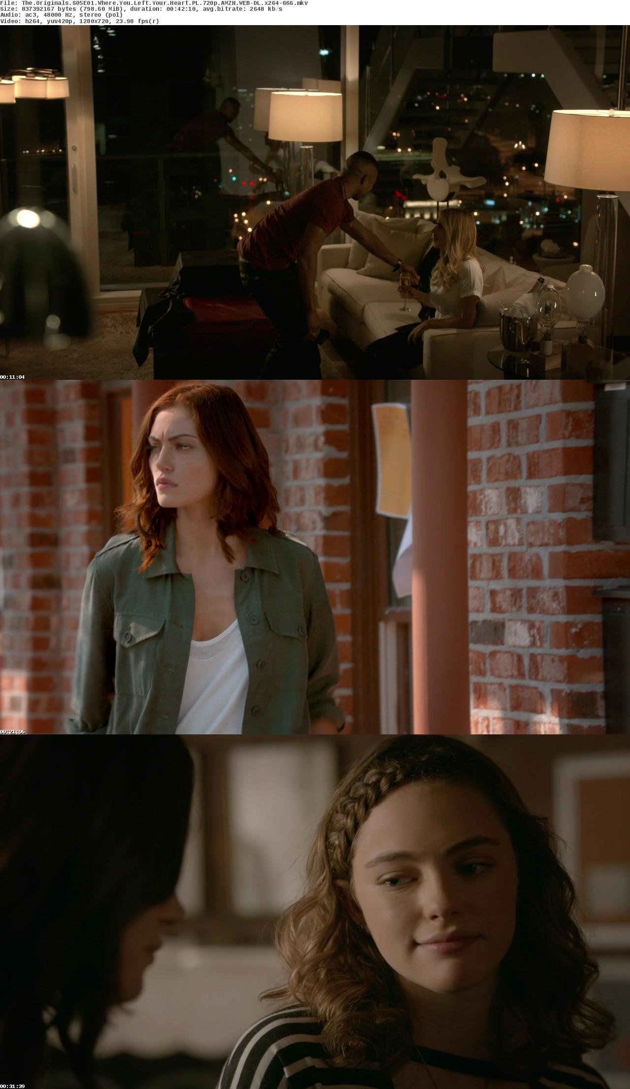 The Originals {Sezon 05} (2018)