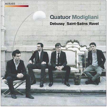 Quatuor Modigliani - Debussy, Saint-Saens, Ravel (2012) [FLAC]