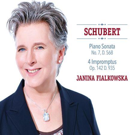 Janina Fialkowska - Schubert: Piano Sonata & 4 Impromptus (2016) [FLAC]