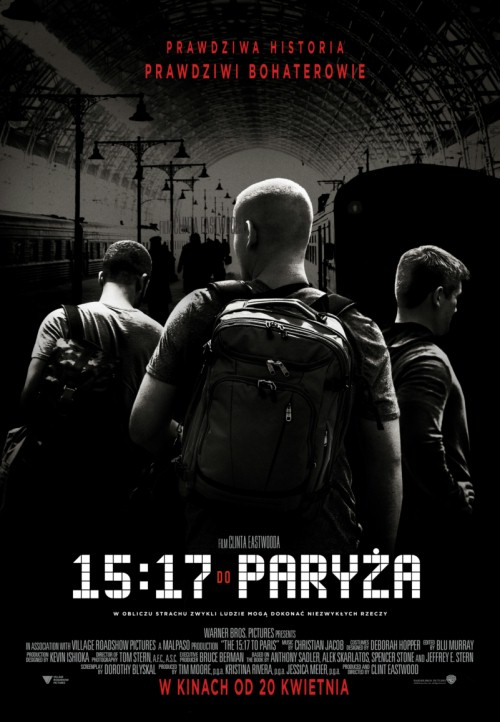 15:17 do Paryża / The 15:17 to Paris (2018)