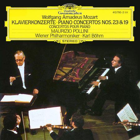 Maurizio Pollini - Mozart: Piano Concertos 23 & 19 (2010) [FLAC]
