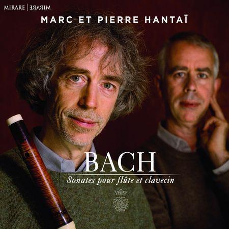 Marc & Pierre Hantai - Bach: Sonates pour flute et clavecin (2018) [FLAC]