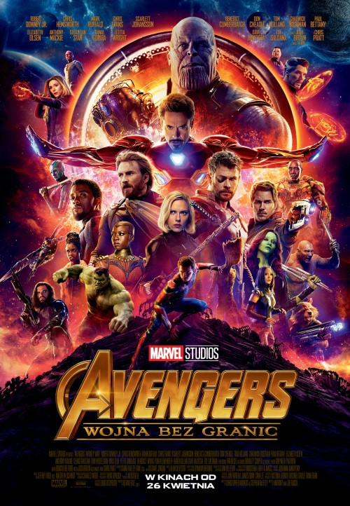 Avengers: Wojna bez granic / Avengers: Infinity War (2018) PLDUB.480p.BDRip.XviD.AC3-KLiO / Dubbing PL