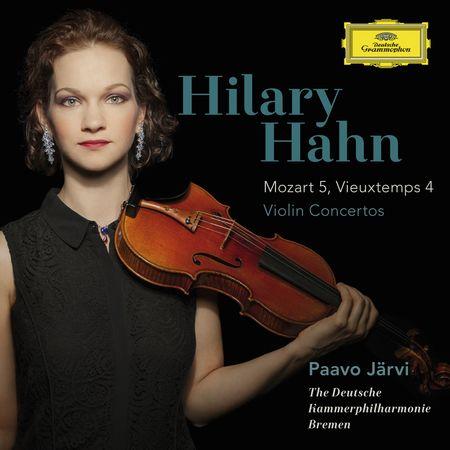 Hilary Hahn - Mozart 5, Vieuxtemps 4: Violin Concertos (2015) [FLAC]