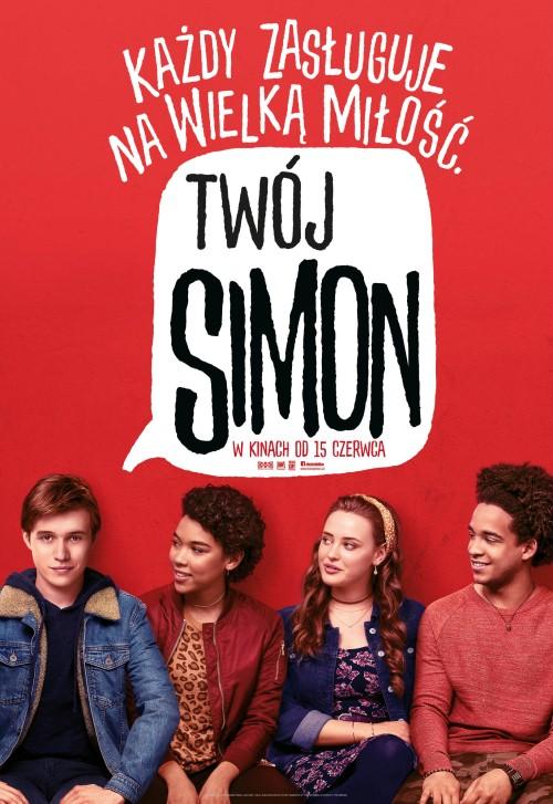 Twój Simon / Love, Simon (2018) PL.480p.BRRip.Xvid.AC3-K83 / Lektor PL