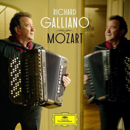 Richard Galliano - Mozart (2016) [FLAC]