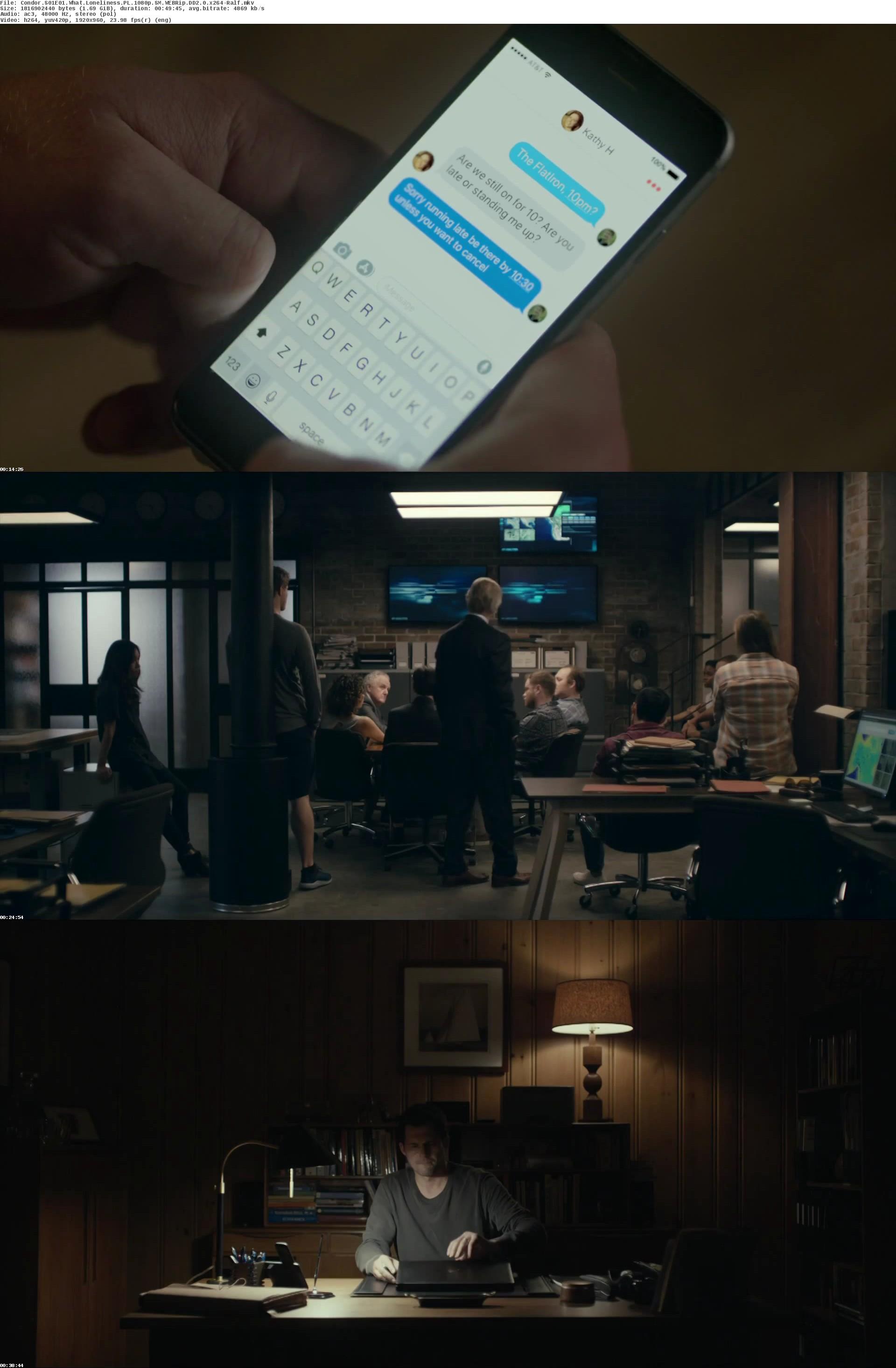3 dni Kondora / Condor (2018) [Sezon 1]