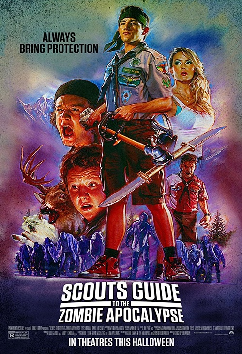 Łowcy zombie / Scouts Guide to the Zombie Apocalypse (2015) PL.720p.BDRip.XviD.AC3-ELiTE | Lektor PL