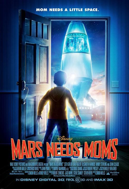 Matki w mackach Marsa / Mars Needs Moms (2011) PL.DUB.1080i.HDTV.x264-HcI | Dubbing PL