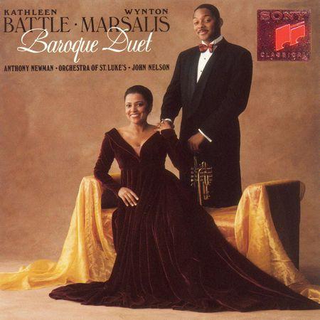 Kathleen Battle, Wynton Marsalis - Baroque Duet (1992) [FLAC]