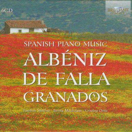Esteban Sanchez, Benita Meshulam, Cristina Ortiz - Spanish Piano Music (2012) [FLAC]