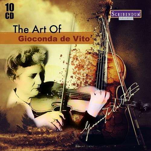 Gioconda de Vito - The Art of Gioconda de Vito (10 CDs Box Set) (2017)