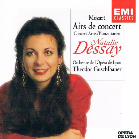 dessay mozart arias And this other mozart concert aria, which is sung so beautifully by natalie dessay has a huge leap from a low b flat to a high d at the end this one's my favorite it's very difficult, but more importantly, it's a very expressive and emotional piece.