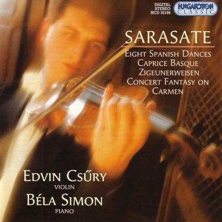 Edvin Csury & Bela Simon - Sarasate (1996) [FLAC]