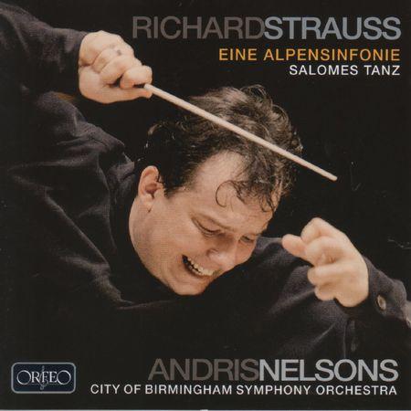 Andris Nelsons - Strauss: Eine Alpensinfonie (2011) [FLAC]