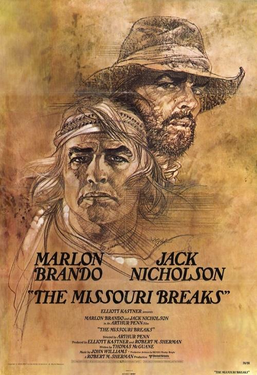 Przełomy Missouri / The Missouri Breaks (1976) PL.1080i.HDTV.h264-HcI | Lektor PL
