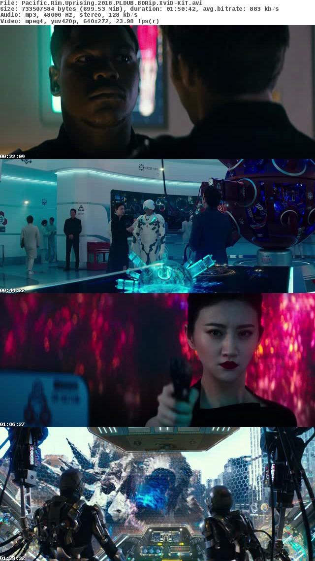 Pacific Rim: Rebelia / Pacific Rim: Uprising (2018)