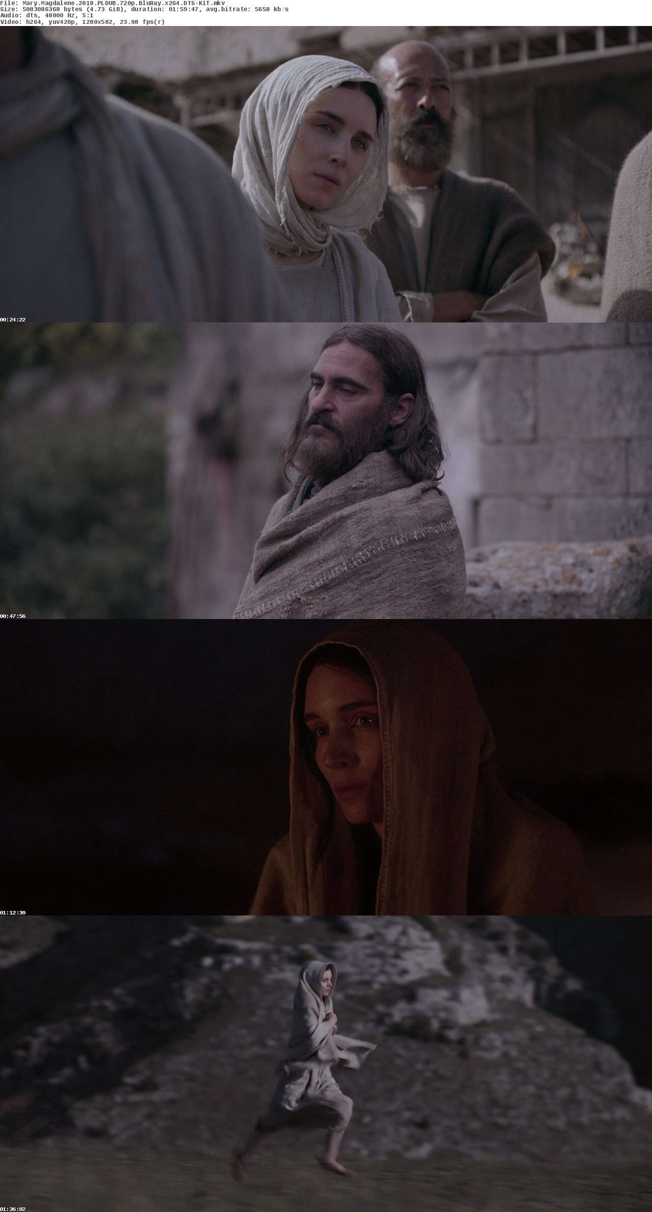 Maria Magdalena / Mary Magdalene (2018)