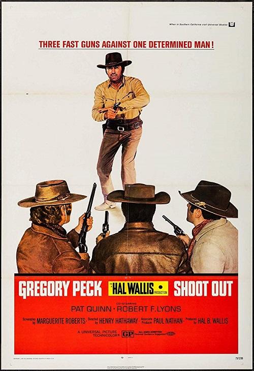Odstrzał / Shoot Out (1971) PL.1080i.HDTV.h264-HcI | Lektor PL