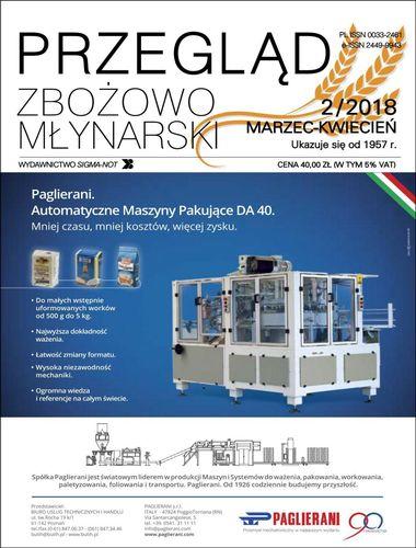 Przegląd zbożowo młynarski - 2 / 2018