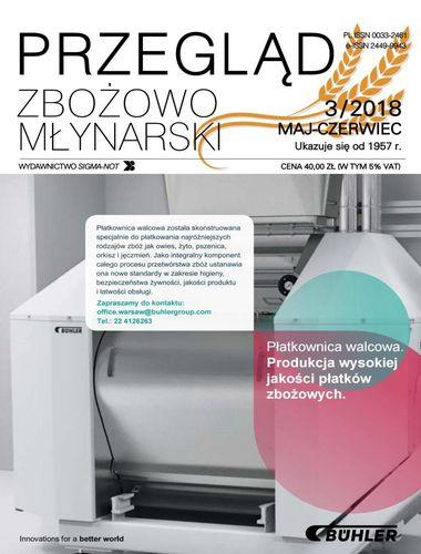 Przegląd zbożowo młynarski - 3 / 2018