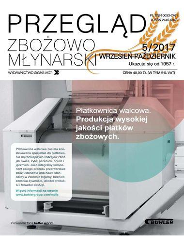 Przegląd zbożowo młynarski - 5 / 2017