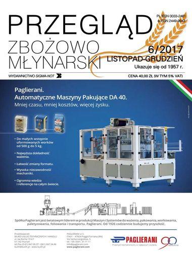 Przegląd zbożowo młynarski - 6 / 2017