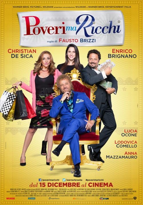 Prości, ale bogaci / Poveri Ma Ricchi (2016)  PL.BRRip.Xvid-FmX / Lektor PL
